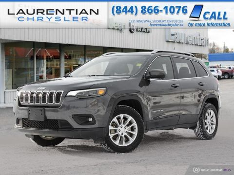 Pre-Owned 2019 Jeep Cherokee North - BLUETOOTH! BACKUP CAM!! WARRANTY!!