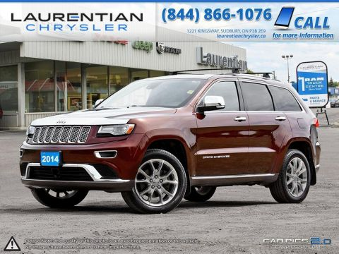 Pre-Owned 2014 Jeep Grand Cherokee Summit- LEATHER!! SUNROOF!! NAVIGATION!! 4WD