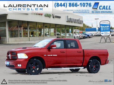 Pre-Owned 2012 Ram 1500 Sport- HEATED SEATS!! SUNROOF!! LEATHER!!!