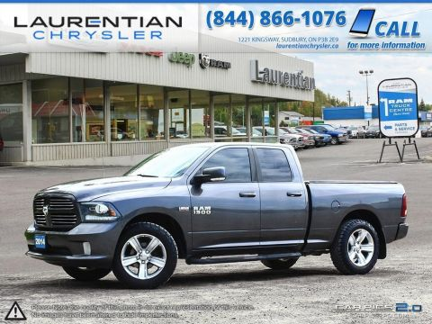 Pre-Owned 2014 Ram 1500 Sport- SUNROOF!! NAVIGATION!! HEATED SEATS!!