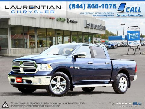 Pre-Owned 2013 Ram 1500 Big Horn- HEATED SEATS!! HEATED STEERING WHEEL!! BLUETOOTH!!!! 4WD