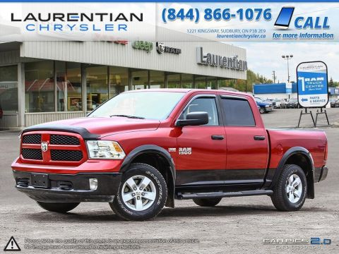 Pre-Owned 2015 Ram 1500 SLT- BLUETOOTH!! GREAT SHAPE!! 4WD