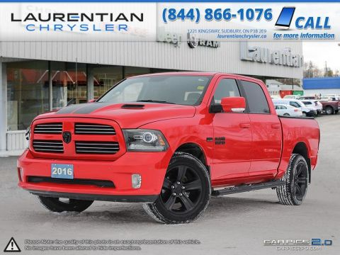 Pre-Owned 2016 Ram 1500 Sport - BACK-UP CAM!! NAV!! WEATHERTECH MATS!!!