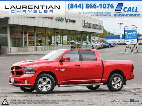 Pre-Owned 2015 Ram 1500 Sport- HEATED SEATS!! NAVIGATION!! TONNEAU COVER!!
