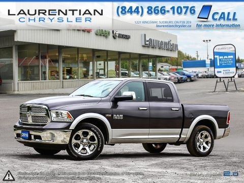 Pre-Owned 2016 Ram 1500 Laramie- LOADED!! NAVIGATION!! SUNROOF!! 4WD