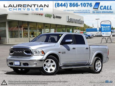 Pre-Owned 2016 Ram 1500 Limited- RAM BOX! LEATHER! SUNROOF! NAVIGATION! 4WD
