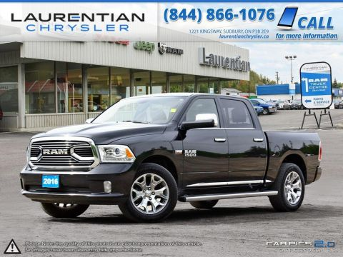 Pre-Owned 2016 Ram 1500 Limited- LOADED!!!!! LEATHER! NAVIGATION! BLUETOOTH! BACKUP CAM! 4WD
