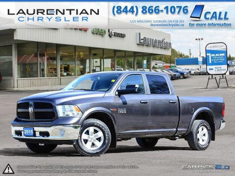 Pre-Owned 2015 Ram 1500 Outdoorsman- ECO-DIESEL!! BLUETOOTH!! TOW/HAUL MODE!! 4WD