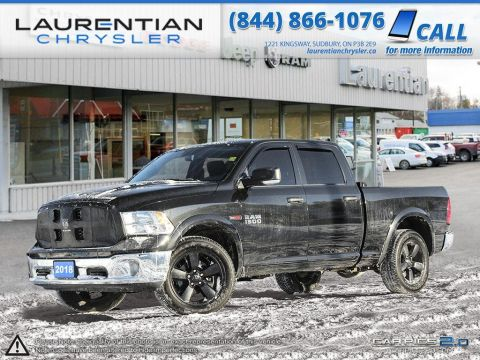 Pre-Owned 2018 Ram 1500 Outdoorsman - DIESEL-CREW CAB WITH 6'4 BOX