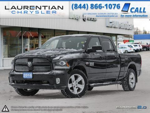 Pre-Owned 2016 Ram 1500 Sport -TRAILER HITCH!! BACK-UP CAM!!