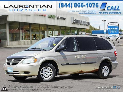 Pre-Owned 2007 Dodge Grand Caravan - SELF CERTIFY- DVD PLAYER! Front Wheel Drive Mini-van, Passenger