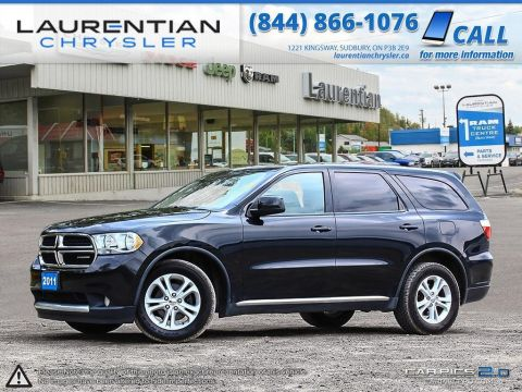 Pre-Owned 2011 Dodge Durango SXT- 3RD ROW SEATS!! BLUETOOTH!! 4WD!!! All Wheel Drive Sport Utility