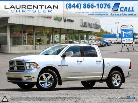 Pre-Owned 2010 Dodge Ram 1500 Sport-LEATHER!! SUNROOF!! BLUETOOTH!! 4WD