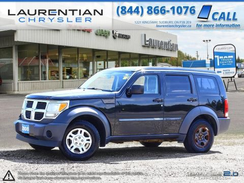 Pre-Owned 2008 Dodge Nitro -SELF CERTIFY!! 4WD