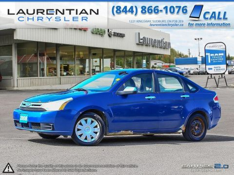 Pre-Owned 2008 Ford Focus -SELF CERTIFY!!