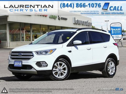 Pre-Owned 2018 Ford Escape -AWD! SUNROOF! LEATHER! BLUETOOTH! 4WD