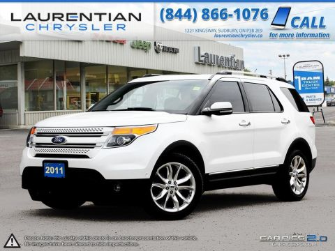Pre-Owned 2011 Ford Explorer Limited-4X4! COOLED/HEATED SEATS!! SUNROOF!! LEATHER!! Four Wheel Drive Sport Utility