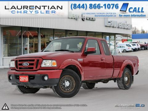 Pre-Owned 2010 Ford Ranger XLT - CERTIFIED!! ONE OWNER!