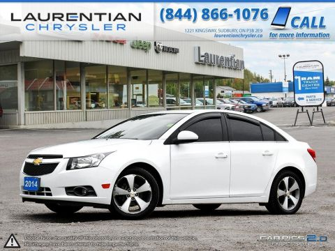 Pre-Owned 2014 Chevrolet Cruze 1LT- 6 SPEED STANDARD!! SUNROOF!! BLUETOOTH!! BACKUP CAM!!!