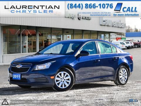 Pre-Owned 2011 Chevrolet Cruze LT TURBO
