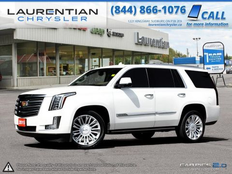 Pre-Owned 2015 Cadillac Escalade Platinum! MASSAGING SEATS!! NAVIGATION!! 3 DVD SCREENS!! 4WD