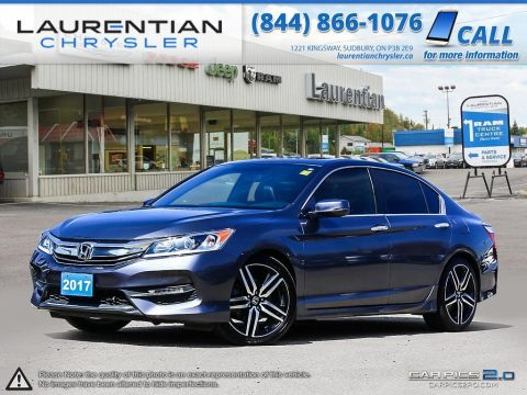 Pre-Owned 2017 Honda Accord Sedan Sport-SUNROOF! BACKUP CAM! HEATED SEATS! LEATHER! Front Wheel Drive 4dr Car
