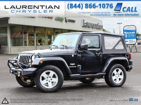 Pre-Owned 2007 Jeep Wrangler Sahara- SELF CERTIFY!!! 4WD