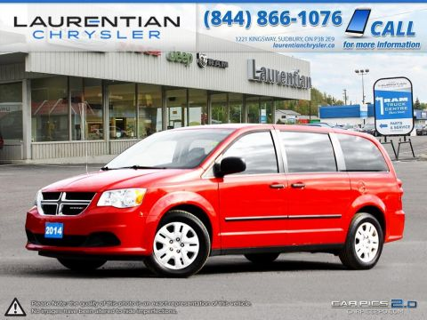 Pre-Owned 2014 Dodge Grand Caravan - GREAT SHAPE!! MULTI-ZONE A/C!!! FWD Mini-van, Passenger