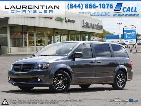Pre-Owned 2017 Dodge Grand Caravan GT- LEATHER! BLUETOOTH! BACK-UP CAM! FWD Mini-van, Passenger