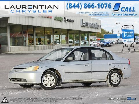 Pre-Owned 2003 Honda Civic Sdn DX-G- SELF CERTIFY!!