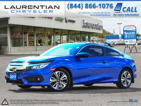 Pre-Owned 2017 Honda Civic Coupe EX-T- SUNROOF!! BLUETOOTH!!