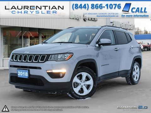 Pre-Owned 2018 Jeep Compass North - KEYLESS ENTRY! PUSH START IGNITION!!!