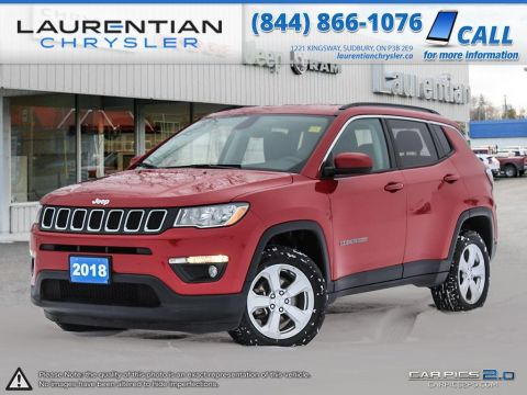 Pre-Owned 2018 Jeep Compass North- PUSH START IGNITION!! BLUETOOTH!!