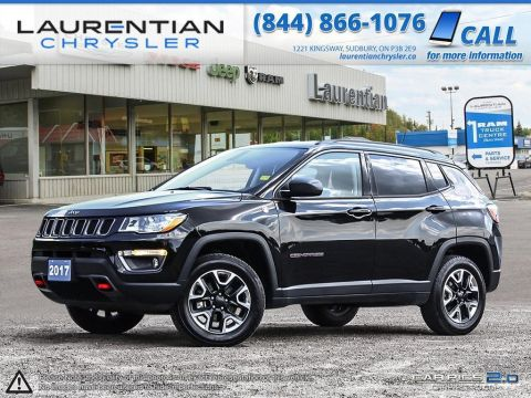 Pre-Owned 2017 Jeep Compass Trailhawk- NAVIGATION!! LEATHER!! BLUETOOTH!!!