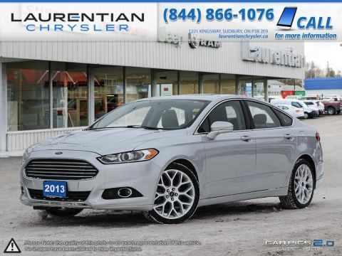 Pre-Owned 2013 Ford Fusion Titanium - FUEL ECONOMY WITH AWD CAPABILITY. CERTIFIED!!!!