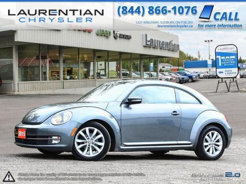 Pre-Owned 2015 Volkswagen Beetle Comfortline- SMILES FOR MILES!! TURBOCHARGED!!!(w/winter tires!)
