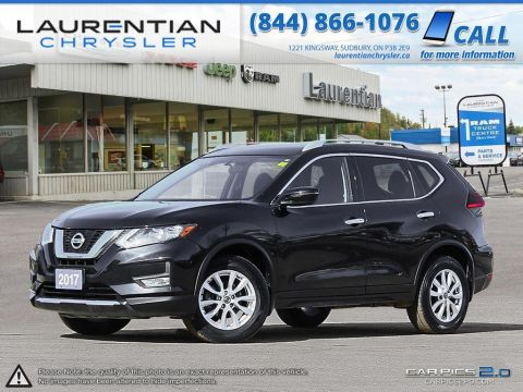Pre-Owned 2017 Nissan Rogue SV- BACK UP CAM, BLUETOOTH, HEATED SEATS!!! With Navigation & AWD