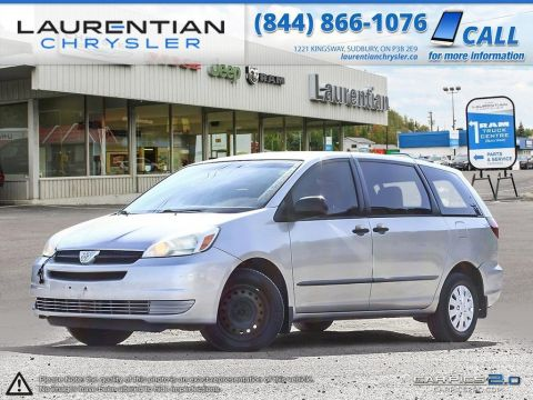 Pre-Owned 2005 Toyota Sienna CE-SELF CERTIFY- FWD Mini-van, Passenger