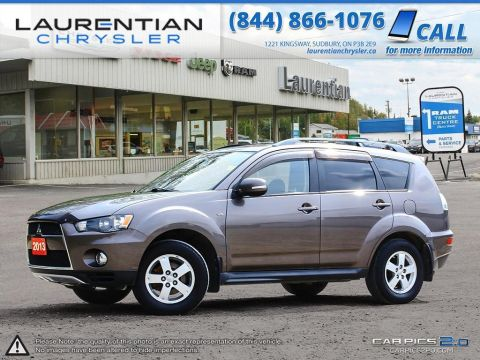 Pre-Owned 2013 Mitsubishi Outlander LS- 4WD!! BLUETOOTH!! BACKUP CAM!! Four Wheel Drive Sport Utility