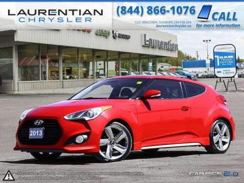 Pre-Owned 2013 Hyundai Veloster Turbo- 6 SPEED MANUAL! SUNROOF! LEATHER!! Front Wheel Drive 3dr Car