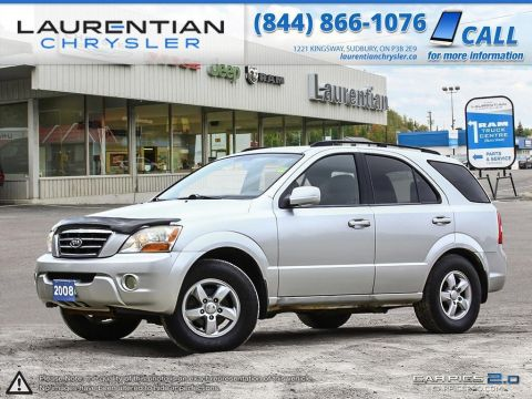 Pre-Owned 2008 Kia Sorento LX- SELF CERTIFY!! 4WD