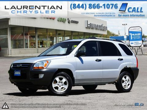 Pre-Owned 2006 Kia Sportage -SELF CERTIFY!!! Front Wheel Drive Sport Utility