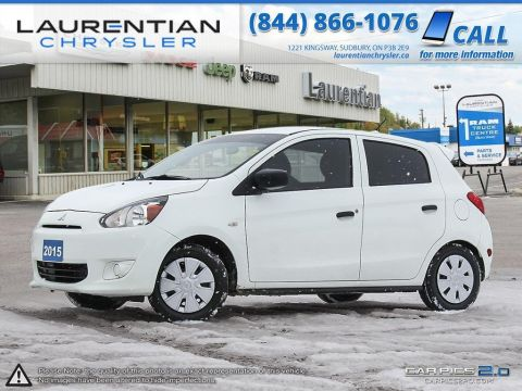 Pre-Owned 2015 Mitsubishi Mirage ES- 5SPD MANUAL!!! WINTER TIRES INCLUDED!!