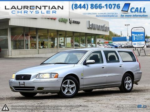 Pre-Owned 2006 Volvo V70 2.5L Turbo, HEATED SEATS!!  RUNS GREAT!! SELF CERTIFY- Front Wheel Drive 4dr Car