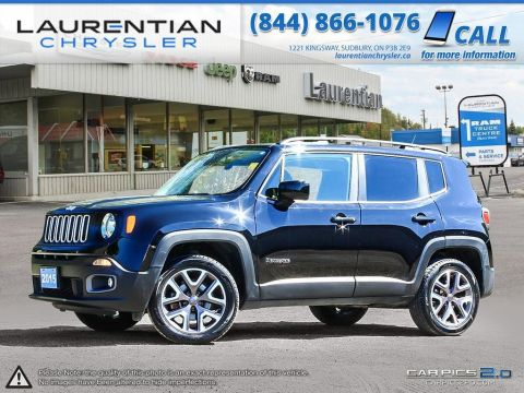 Pre-Owned 2015 Jeep Renegade North- VERY CLEAN!! 4X4!! BLUETOOTH!!
