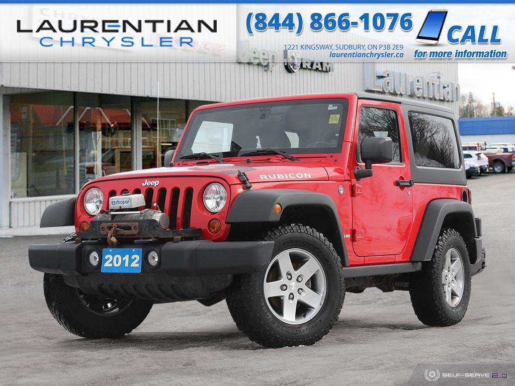 Pre-Owned 2012 Jeep Wrangler Rubicon - 6-SPEED MANUAL!!!