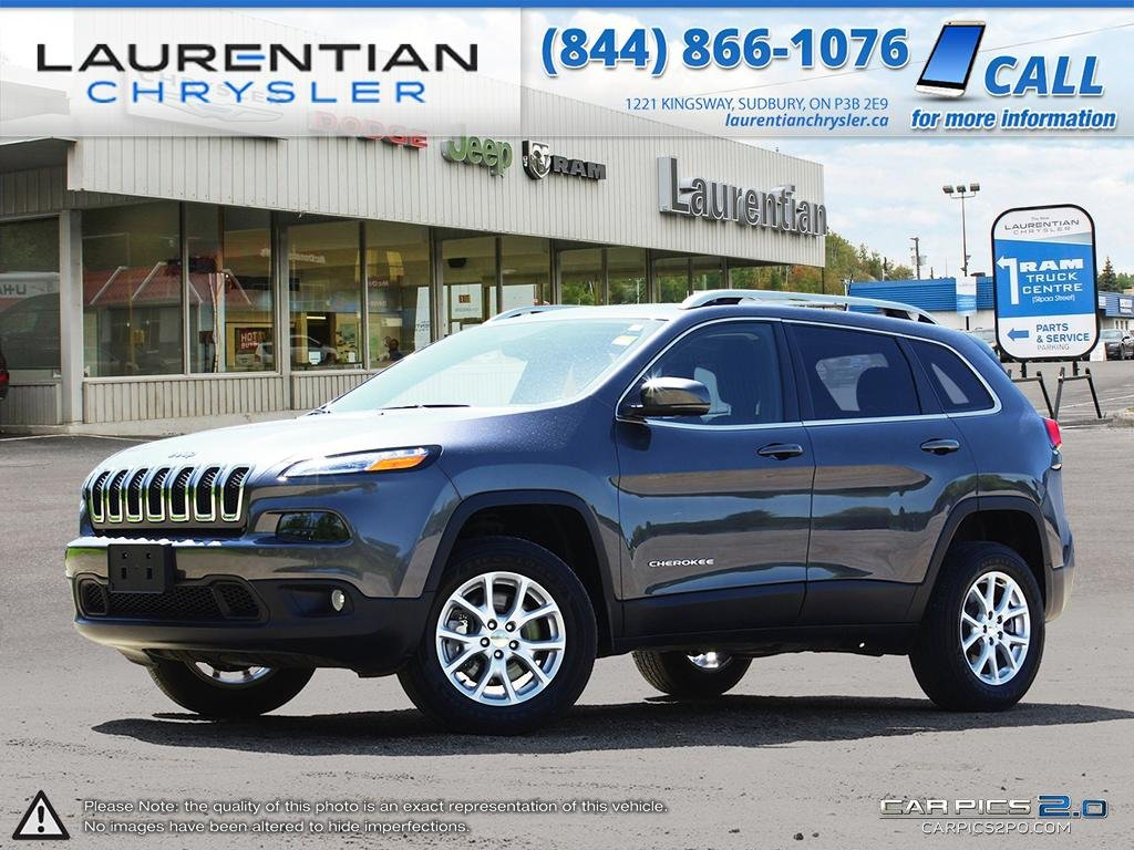 Pre-Owned 2017 Jeep Cherokee North- 4X4! SUNROOF!! SELEC-TERRAIN!! BLUETOOTH!!