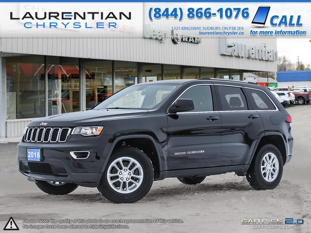Pre-Owned 2018 Jeep Grand Cherokee Laredo BACK-UP CAMERA!! BLUETOOTH!!