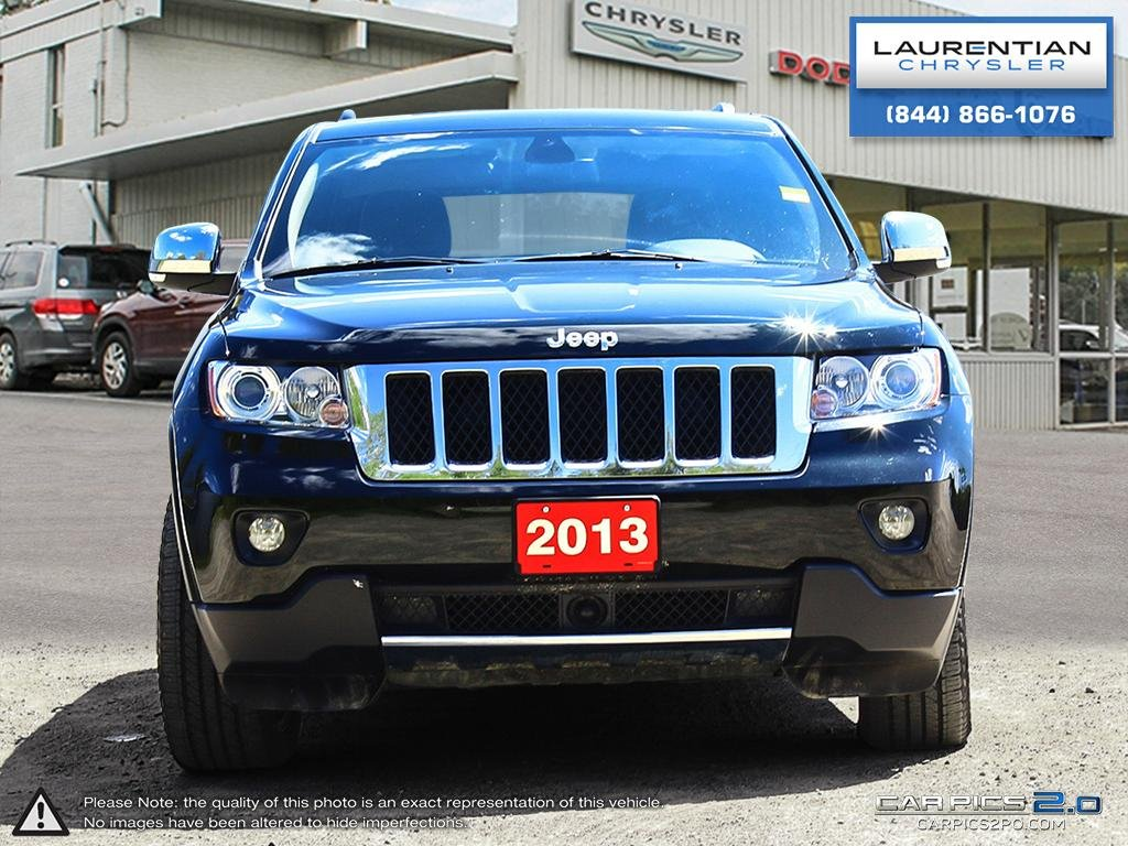 Marvelous Pre Owned 2013 Jeep Grand Cherokee Overland  4X4!! NAVIGATION!! LEATHER
