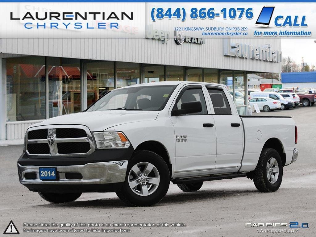 Pre-Owned 2014 Ram 1500 ST - CERTIFIED - TRI-FOLD TONNEAU COVER!!!